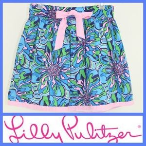 Lilly Pulitzer Bella Skirt in Navy Rehearsal EUC-